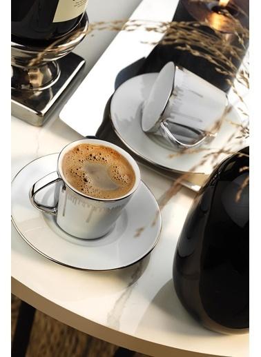 Kütahya Porselen Toledo Kahve Takımı 10751 Renkli